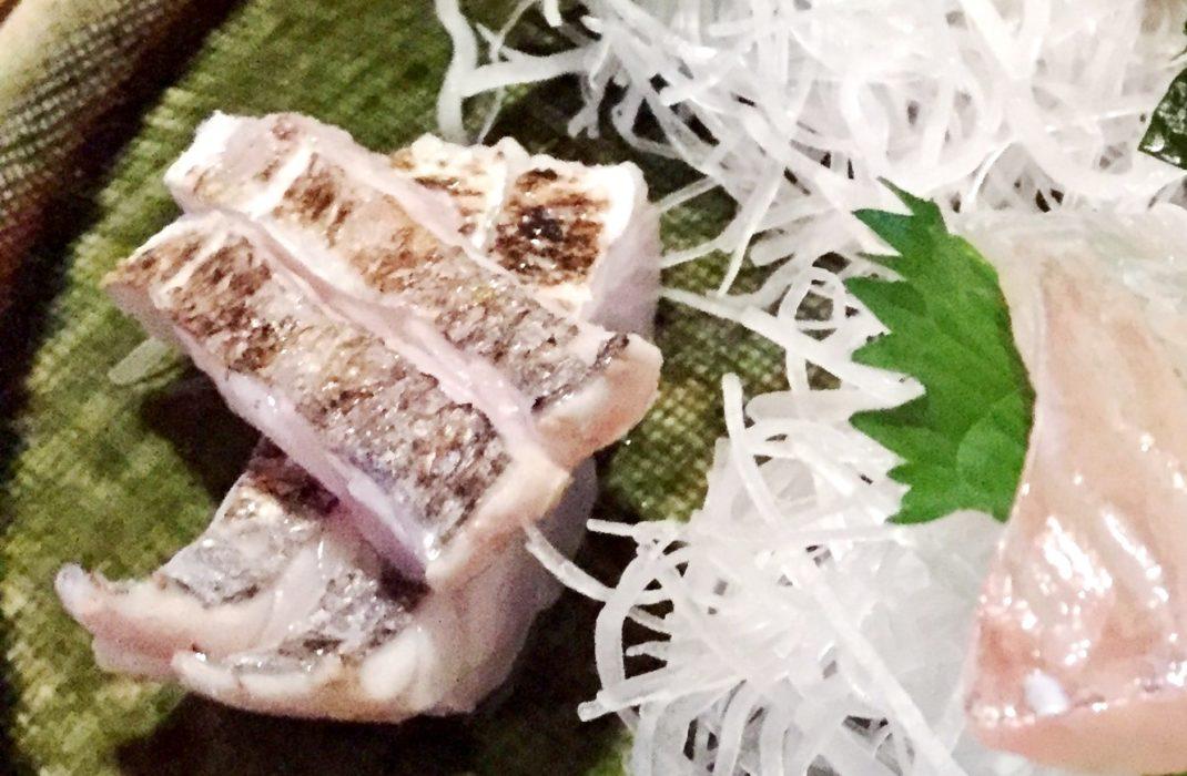 太刀魚焼霜造